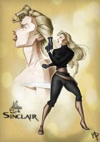 Helga Sinclair 2 by Lord-Mo