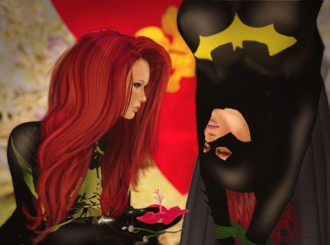 Flowers for Batgirl by EthereaS