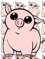 Porky Colored by GG-lover