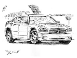 Dodge Charger 2006 by judge-design