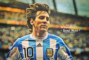 Lionel Messi by johnsoko3236