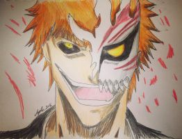 Hollow Ichigo : Bleach by Africa2000