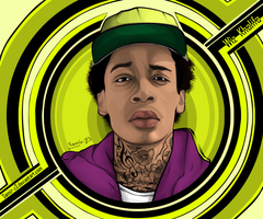 WiZ khalifa by Samir-Z3