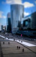 Paris la defense by Telekinesy