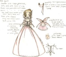 Fae Lolita Wedding Gown by thedandmom