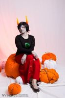 Kanaya Maryam and cute little pumpkins :3 by Dead-Batter