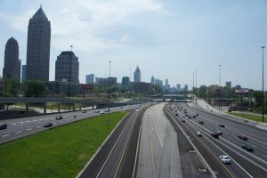 Atlanta Skyline by D3LM3L