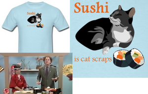 Sushi Is Cat Scraps by Enlightenup23