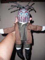 Mushroomhead plushie- Skinny by thedollmaker