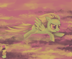 Lightning Dust, palette challenge by son-trava