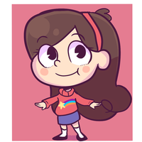 Mabel Pines by mcnia