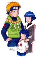 Future Uzumaki Family by agra19