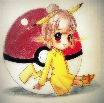 Pika by LivLaughLoveAnime