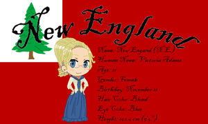 APH OC: New England by CowboysLittleDevil