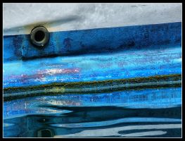 Boat in Blue by kanes