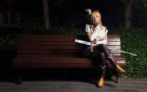 Mami Tomoe - Afterwitch Tea by Flanna