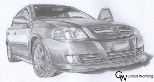 Chevrolet Astra - DRAW by LGhost