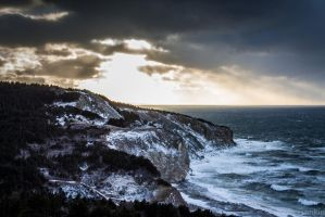 Mabou Coal Mines Shore by steverankin