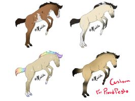 More foals (ADOPTS) by Midnitella