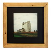 Grain Elevator Framed Print by Joe-Lynn-Design