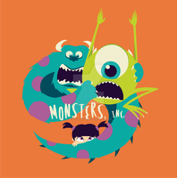 Monsters, Inc. by jessicacicca