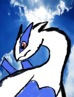 Lugia, guardian of the sea by Jonesycat79