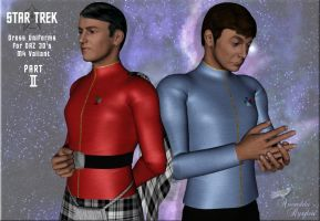 Star Trek: Dress Uniforms II by Anendda-Rysden