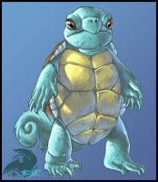Squirtle by ReneCampbellArt