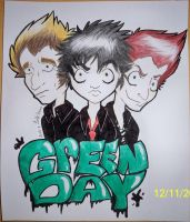 Green Day by rover24cat