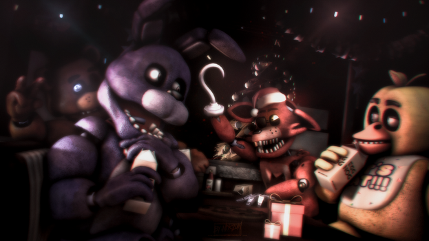 [SFM/FNAF] Waiting for a miracle. by NikzonKrauser
