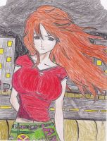 Orihime's TS Unleached Colored by EdwardElricx101