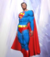 Classic Superman by giumabei