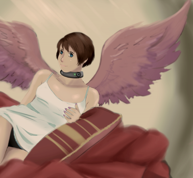 Winged Girl by SoftCloudProject
