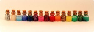 Mini potions by Jacarandahm