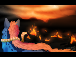In the Ashes of War by FizzGryphon