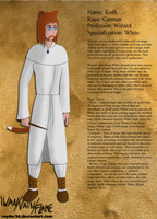 Character Sheet: Koth by Rayder3d