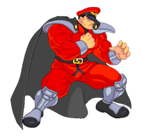 M. Bison HD Animated by neocargalpha