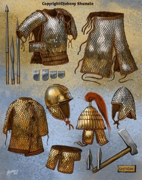Scythian Armor by JohnnyShumate