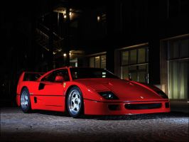 Ferrari F40 by apple-yigit-jack