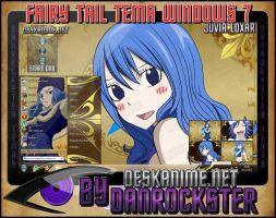 Juvia Loxar Theme Windows 7 by Danrockster