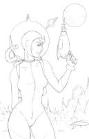 Space Girl by JVAvila10