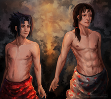 Sasuke and Itachi by Balisson