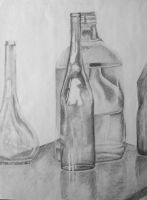Glass Bottles by thecountess