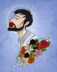 Doug+Flowers by Cakeybots