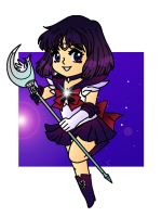 Chibi Saturn by Sailor-Serenity