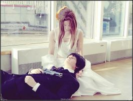 Lucrecia and Vincent - cosplay - by Dark6Nika