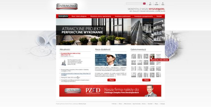 Polish developer web design by 4inArt