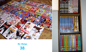 My manga collection by KitsPokePeople