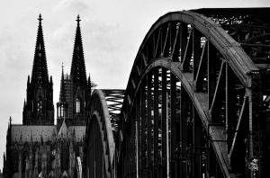 Church and brigde by kosmanykiel