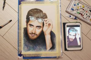 Jake Gyllenhaal by AshiMonster
